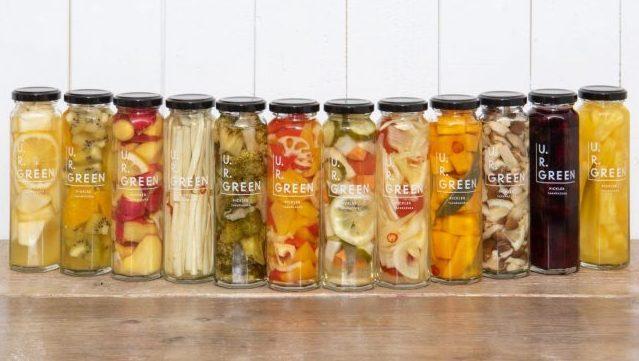 夏にぴったり新発売♡U.R.GREENの野菜&フルーツピクルスが映え確実!