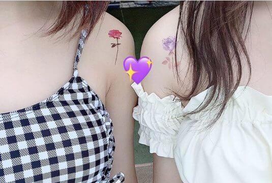 この夏トレンドのタトゥーシール♡簡単可愛く素肌を飾ろう!