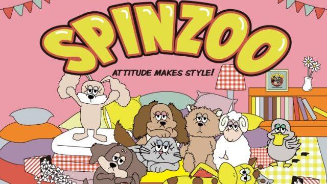最愛ブランド♡SPINNSの新オリジナルアニマルキャラクター【スピンZOO】が可愛い
