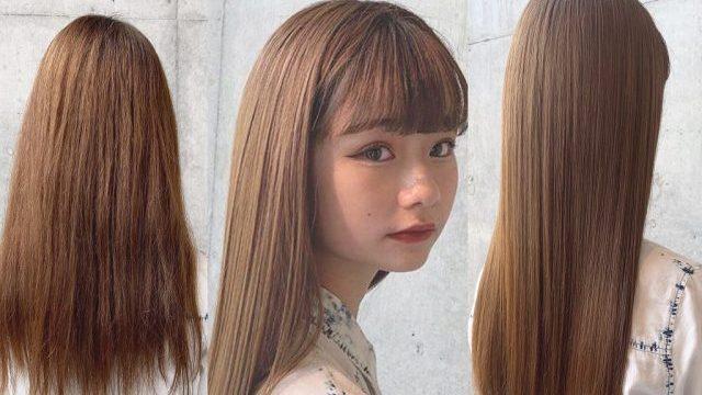 艶々ストレートへ☆髪質改善トリートメント・酸熱トリートメントの種類やメリット