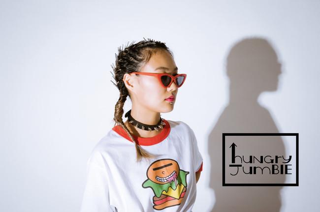90'sファッション風!ハンバーガーが目印の新ブランド【huNGry JumBlE®】に注目☆